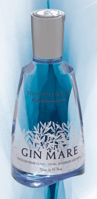 Bottle image with ice background